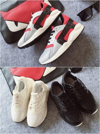 【Z325001】韓系街拍潮流鱷魚皮紋拼接造型幼兒童鞋/休閒鞋/慢跑鞋-Yobbo