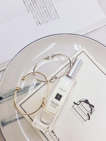 【Z430145】歐美風簡約俐落設計感打結造型金屬開口手環/手鐲-Fairy