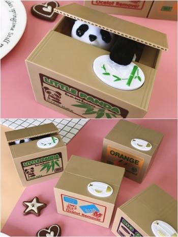 【Z436086】箱子貓偷錢貓/吃錢存錢筒/創意儲蓄罐/存錢筒-Better