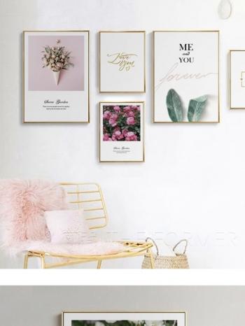 【Z433416】(40x60cm)居家擺設浪漫花草風油畫畫框/藝術掛畫(框種類可選)-Beauty