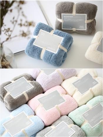 【Z433625】(80X35cm)馬卡龍粉嫩色系速乾超柔吸水性極佳浴巾-Maison