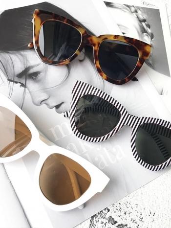 【Z531009】IG網紅個性街拍風大框造型粗框太陽眼鏡/墨鏡-Extremely