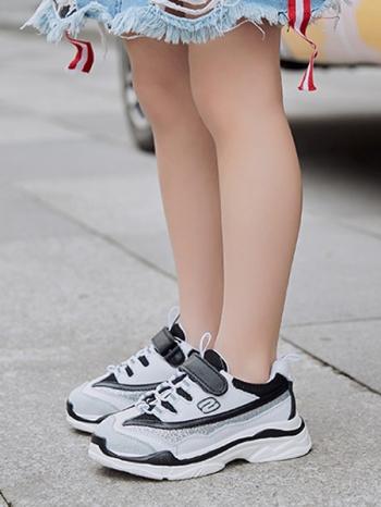 【Z525004】(青少年)中性厚底撞色拼接造型休閒鞋/運動鞋/慢跑鞋/大童鞋/童鞋-May