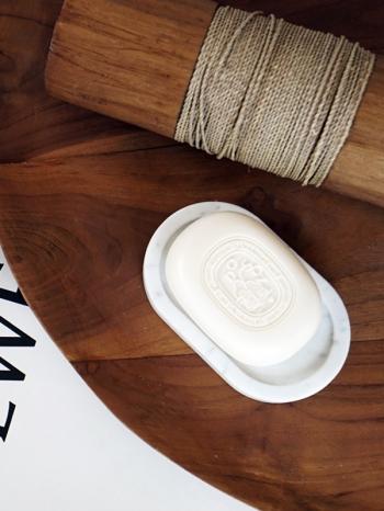 【Z532151】簡約大理石工藝香皂瀝水盤/香皂盤/香皂架/首飾盤/衛浴用品-Delicate