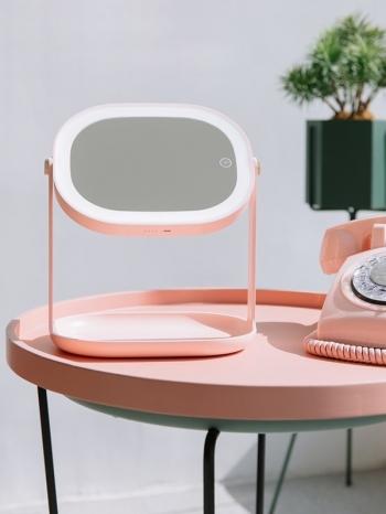 【Z535024】美顏柔光LED燈二合一美容鏡/掛鏡/立鏡/化妝鏡-Ideal