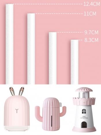 【Z536091】迷你加濕器備用替換棉棒條/吸水棉/濾芯棉/棉芯(2入)-Comfy