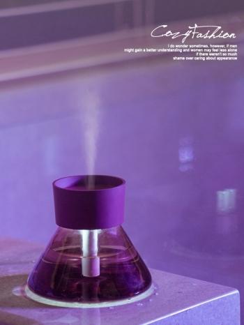 【Z536093】優雅香水瓶造型噴霧器/霧化器/加濕器-Christmas