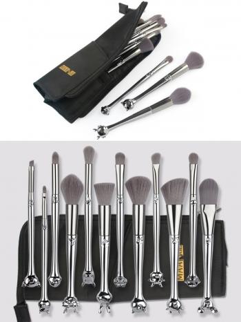 【Z635002】十二生肖造型刷具組/美容用具/彩妝刷(含刷具收納化妝包)-Expect