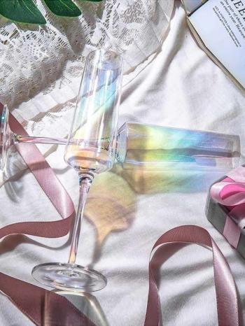 【Z638001】彩虹折射酒杯/高腳杯/香檳杯//紅酒杯/勃根地杯-Expect