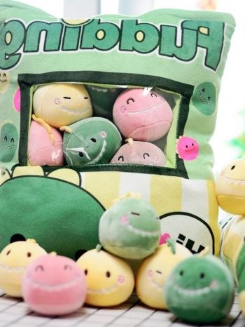 【Z636008】一大袋小寵物帶回家/創意布偶/一帶零食/禮物/小抱枕-Vitality