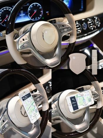 【Z639007】日本進口隨手貼懶人手機支架/奈米科技/收納架-Joyful