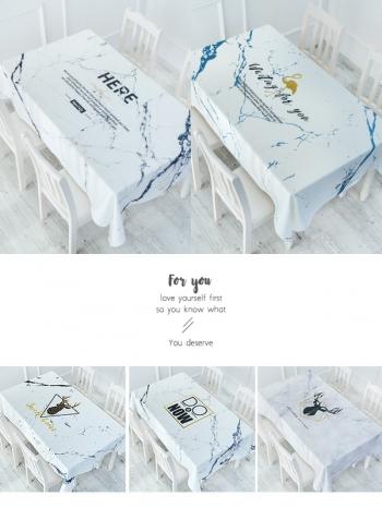 【Z633059】(小)大理石紋系列多色餐桌巾/桌墊/餐墊/桌布-Joyful
