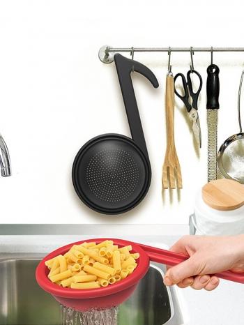【Z638054】音符造型廚房用漏水勺/濾水勺/過濾器-Joyful