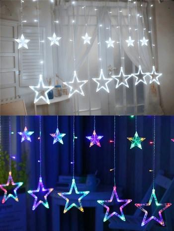 【Z633071】浪漫滿天星垂墜式串燈/LED燈/夜燈/燈飾-Brightfuture