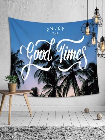 【Z633078】(大)熱帶海洋風圖案掛布/壁掛裝飾/沙灘巾/桌布/牆面裝飾-Brightfuture