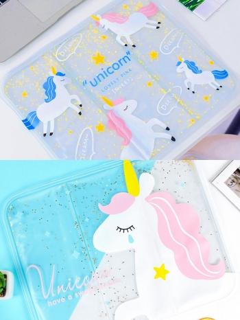 【Z633084】夏日水果圖案透氣透明冰墊/水墊/冰枕/水袋-Soft
