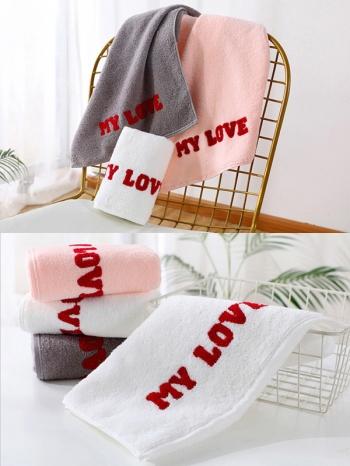 【Z633096】(毛巾)純棉居家情侶厚毛巾/洗臉巾/擦手巾/長巾-Soft