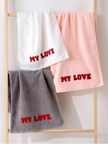 【Z633097】(浴巾)純棉居家情侶厚浴巾/長巾/毛巾/沙灘巾-Soft