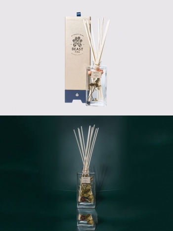 【Z633098】精緻質感乾燥花造形玻璃瓶擴香/香氛/香薰精油-Soft