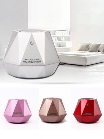 【Z633117】奢華鑽石造型迷你加濕器/濕潤器/水氧機-infinite