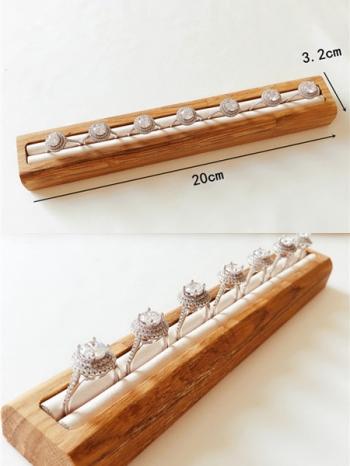 【Z632170】(單槽)韓風飾品道具戒指陳列展示架/收納架-refreshing