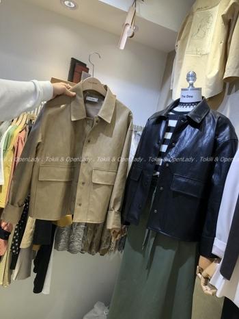 【Z921012】復古皮外套