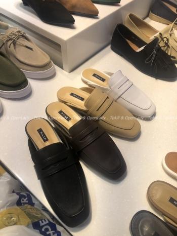 【Z921130】簡約皮質樂福鞋