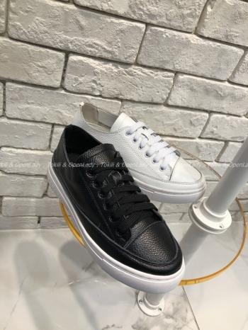 【Z921132】皮質鞋帶懶人鞋