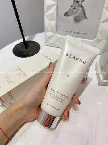 【Z921161】KLAVUU純淨針珠亮白洗面乳130ml