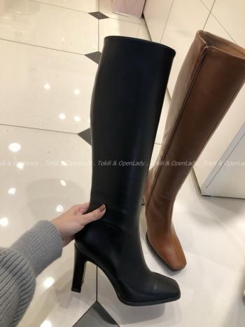 【Z921254】方頭高跟長靴