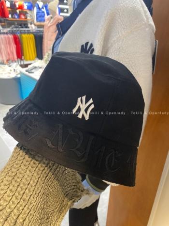 【Z921299】MLB羅馬字刺繡漁夫帽