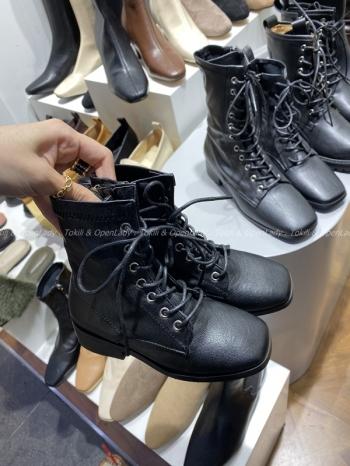 【Z921325】(童款)皮革軍靴