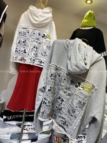 【Z921322】米老鼠漫畫連帽上衣