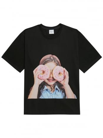 【Z921380】ADLV甜甜圈女孩短T
