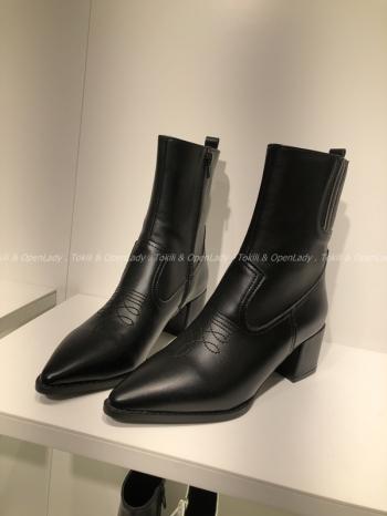 【Z921483】尖頭美式西部靴