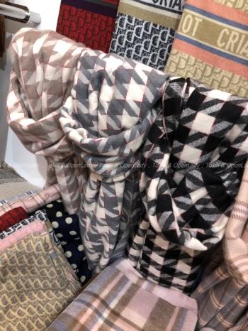 【Z921519】大千鳥格柔膚圍巾