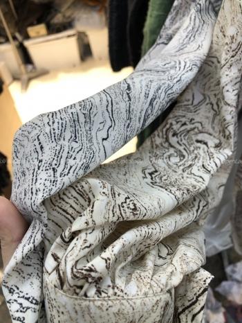 【Z821167】渲染花色雪紡襯衫