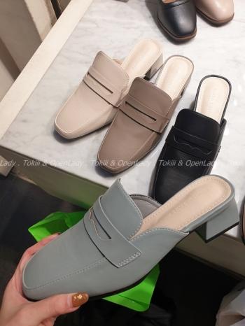 【Z922023】簡約穆勒拖鞋
