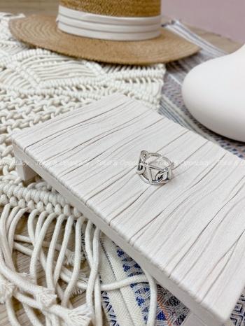【Z821430】三連環開口戒指
