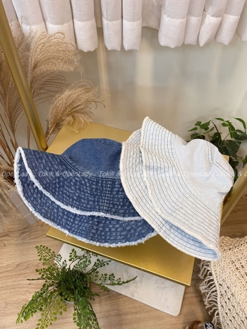 【Z922355】牛仔漁夫帽