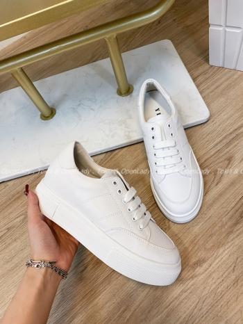 【Z821600】4+2cm內增高小白鞋