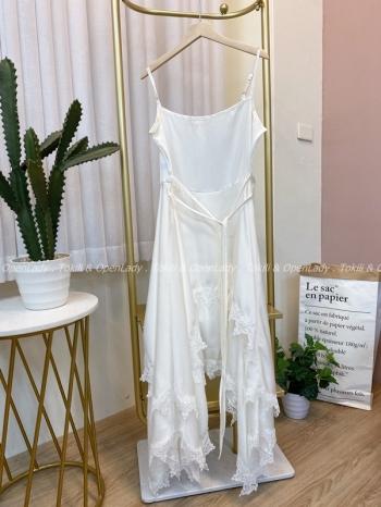 【Z922489】不規則裙襬洋裝裙