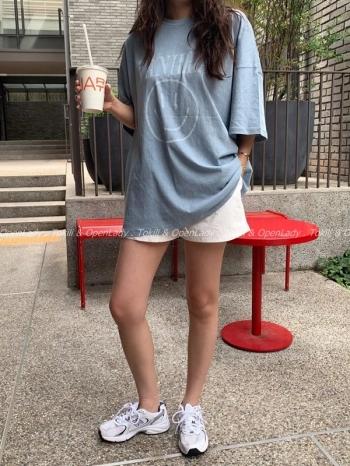 【Z922649】笑臉水洗短上衣