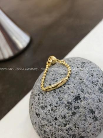【Z922743】條型珠鏈戒指