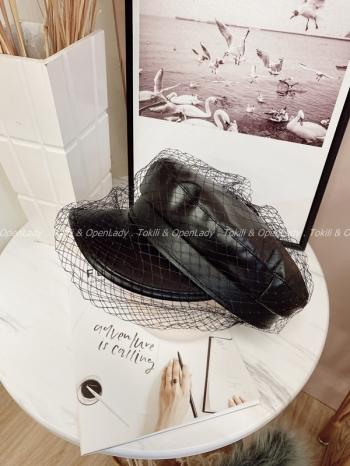 【Z922880】網紗造型軍帽
