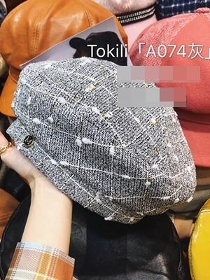 【Z921074】格紋漁夫帽