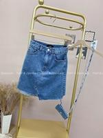 【Z922278】附造型小包牛仔短裙