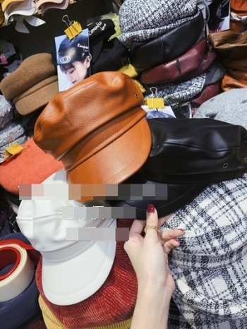 【Z921070】皮革畫家帽