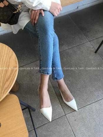 【Z923146】輕時尚尖頭細跟涼鞋