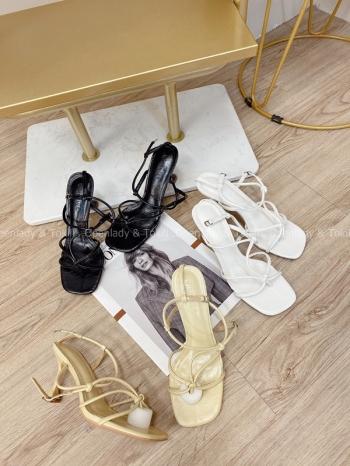 【Z822187】繫帶夾腳涼鞋